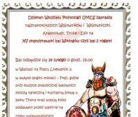 XV Bal Politologa - zaproszenie