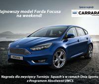 Najnowszy Ford Focus na weekend dla absolwenta -...