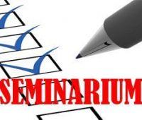 Zapisy na seminarium – terminy i prowadzący
