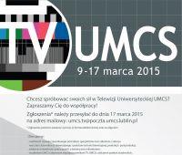 Nabór do Telewizji Uniwersyteckiej UMCS