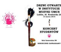 Drzwi otwarte w Instytucie Muzyki