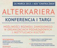 AlterKariera - zaproszenie na konferencję i targi
