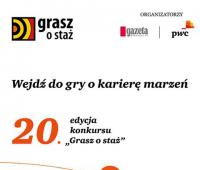 """20. edycja konkursu """"Grasz o staż"""""""