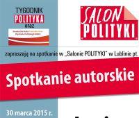 """""""Salon Polityki"""" – zaproszenie"""