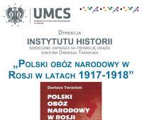Polski obóz narodowy w Rosji w latach 1917-1918 -...