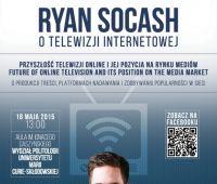 Ryan Socash o telewizji internetowej – zaproszenie