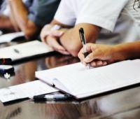 Zebranie poświęcone dyskusji na temat strategii i...