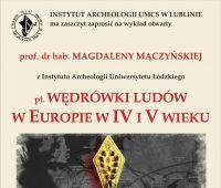 Wykład Profesor Magdaleny Mączyńskiej