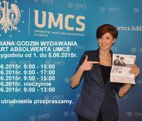 Zmiana godzin wydawania Kart Absolwenta UMCS