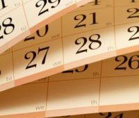 2018/19 Academic calendar