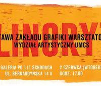 LINORYT wystawa Zakładu Grafiki Warsztatowej I