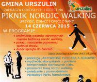 Piknik Nordic Walking w Urszulinie - zaproszenie
