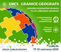 """Kongres Geografów Polskich """"Granice Geografii"""""""