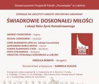 Koncert oratoryjno-organowy
