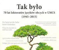 70 lat lektoratów w UMCS