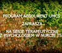 Zaproszenie na konsultacje psychologiczne (w nurcie TSR)