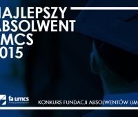 Konkurs Najlepszy Absolwent UMCS 2015