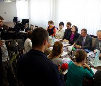 Konferencja prasowa w sprawie XII LFN
