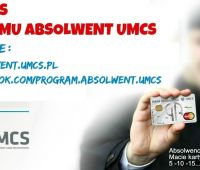 Konkurs Programu Absolwent UMCS 5-10-15...