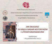 Konferencja: Jan Długosz - w kręgu badań historyków i...
