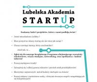 Lubelska Akademia Startup zaprasza