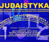 Judaistyka - specjalizacja dla studentów wszystkich...