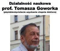 """Wystawa """"Działalność naukowa Profesora Tomasza..."""