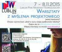 DESIGN THINKING WEEK LUBLIN 2015 - zaproszenie