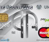 Od 4.11.15.dostępny wyłącznie jeden typ Kart Absolwenta UMCS