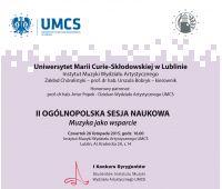 Sesja naukowa i Konkurs Dyrygencki w Instytucie Muzyki