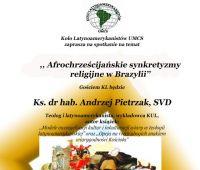,,Afrochrześcijańskie synkretyzmy religijne w...