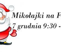 Mikołajki na WFiS - 7 grudnia