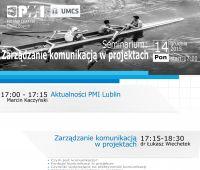 Seminarium: Zarządzanie komunikacją w projektach