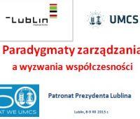 """""""Paradygmaty zarządzania a wyzwania..."""