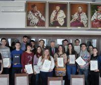 Wizyta młodzieży z Ukrainy