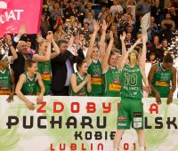 Puchar Polski dla koszykarek Pszczółki AZS UMCS