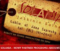 Jaskinia SOLANIA - 50% rabatu z Kartą Absolwenta UMCS!