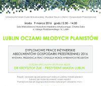 Lublin oczami młodych planistów