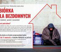 """Podsumowanie zbiórki """"Ludzie bezdomni"""""""