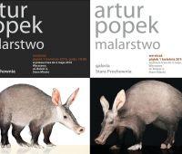 Wystawa malarstwa Artura Popka