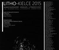 """MIĘDZYNARODOWY KONKURS LITOGRAFII """"LITHO-KIELCE/2015"""