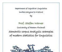 Wykład otwarty w Zakładzie Językoznawstwa Kognitywnego...