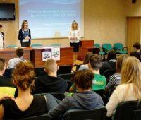 Spotkanie z uczniami II LO w Świdniku