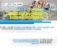 Seminarium PMI - Zarządzanie projektami Business...