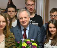 Wizyta JM Rektora w Prywatnym Liceum im. Królowej Jadwigi