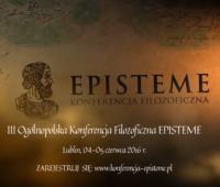 Konferencja Filozoficzna EPISTEME - ostatnie dni rejestracji