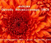 Sukces Ogrodu Botanicznego UMCS