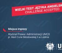 Wielki Test Języka Angielskiego – Challenge Accepted