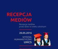 Konferencja: Recepcja mediów przez dzieci w wieku szkolnym