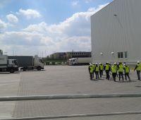 Studenci WE w Centrum logistycznym firmy Raben